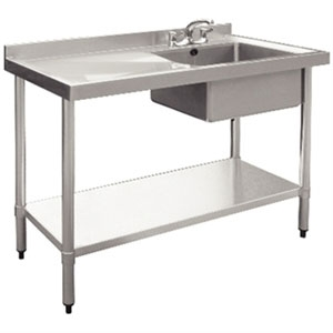 Stainless Steel Sink Single Bowl