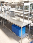 Stainless Steel Table with Heated Gantry