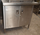 Stainless Steel Prep Table with Cupboard