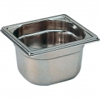 Stainless Steel Bain Marie Tray 1/6 150mm Deep