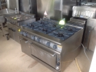 6 Ring Falcon Dominator Cooker with Salamander